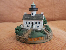 Danbury Mint Perpetual Calander Lighthouse Collection Replacement March