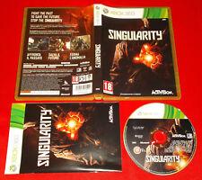 SINGULARITY XBOX 360 Versione Ufficiale Italiana 1ª Edizione ○ COMPLETO - FG