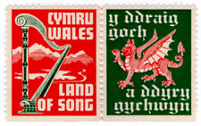 (I.B) Cinderella Collection : Welsh Nationalist Labels