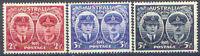 Australia 1945 ROYAL VISIT (Gloucester) Set (3), Unhinged Mint, SG 209-211
