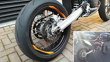 Supermoto Wheel Rim Stripe Sticker