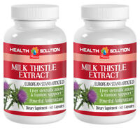 strengthen immune system - MILK THISTLE EXTRACT- milk thistle extract, 2 Bottles