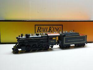 O Scale - MTH - Pennsylvania 2-8-0 Steam Locomotive & Tender w/ Proto-Sound 2.0
