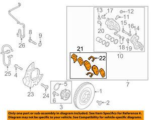 HYUNDAI OEM 17-18 Santa Fe Sport Brake-Front-Brake Pads 581014ZA70