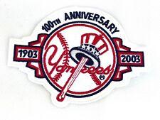 New York Yankees 100th Anniversary Patch