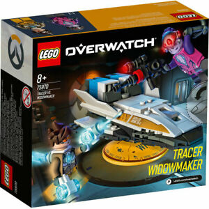 LEGO 75970 Overwatch Tracer vs. Widowmaker Toy with Mini Figures