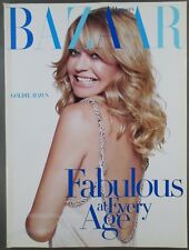 Harper's Bazaar Fashion Magazine April 2005 Goldie Hawn Fabulous At Every Age