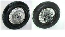 "Pit Bike Motard wheel kit. 12"" rims, tires, discs. PIRANHA , SSR ,Pitster pro"