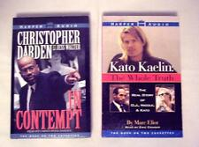 Kato Kaelin: The Whole Truth, C. Darden: Contempt: 2 OJ Simpson trial tapebooks