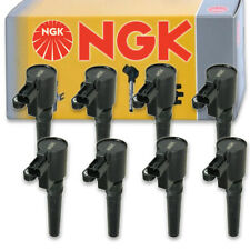 8 pcs NGK Ignition Coil for 2001-2006 Lincoln LS 3.9L V8 - Spark Plug Tune zz