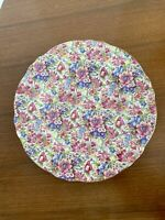 "Vintage Royal Winton Chintz Sunshine 10"" Dinner Plate Lovely!"