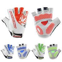 перчатки Breathable Cycling Bike Bicycle Sports GEL Pad Half Finger Gloves