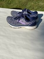 Brooks Ghost 11 1202771B406 Running Shoes, Women's Size 7.5B - Navy