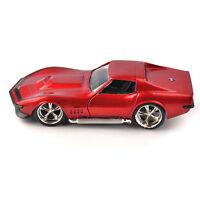 Jada 1969 Corvette StingRay ZL-1 Red Vehicles 1/32 Diecast Race Car Model Toy
