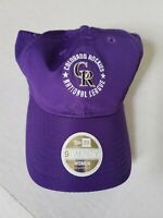 Colorado Rockies MLB Women's New Era 9Twenty Purple Adjustable Hat