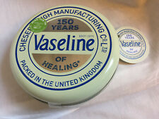 VASELINE LIP THERAPY LIMITED EDITION 150 YEARS TIN 3 X 20G Rose Aloe Cocoa
