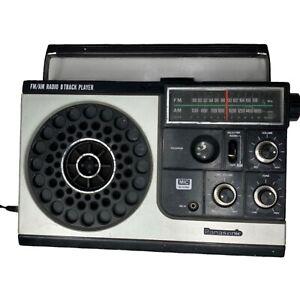 Panasonic RQ-835-S Portable 8-Track Tape Player AM FM Radio- 8 Track NOT Working
