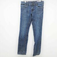 Empyre Mens Super Slim Jeans Zipper Fly Pockets Medium Wash Denim Blue Size 30