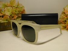 3d43b588fa THIERRY LASRY Flavory 995 Square Clear White Frame Sunglasses 54 19  140    420