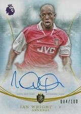 2016-17 TOPPS PREMIER GOLD IAN WRIGHT ARSENAL 84/100 MOMENTS AUTOGRAPH