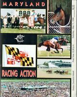 CIGAR IN 1996 PIMLICO SPECIAL HORSE RACING PROGRAM! PIMLICO RACE COURSE