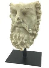 Lucius Verus Roman Emperor Portrait Head Statue Replica Looks Old 12H