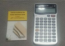 Calculated Industries - Construction Master Pro 4065 v3.1 Scientific Calculator