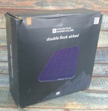 Mountain Warehouse Double Flock Airbed Air Bed Bnib RRP £39.99