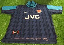 arsenal football medium mans vintage nike paul merson no10 away jersey england