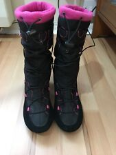"""KICKERS ladies Boots With Heel, size UK 5, EU 38. """"Good used condition"""