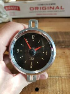 1968 VDO Clock Kienzle 27/55/1 Mercedes porsche vw ??