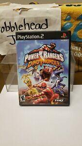 CIB POWER RANGERS DINO THUNDER PS2 SONY PLAYSTATION 2 VIDEO GAME