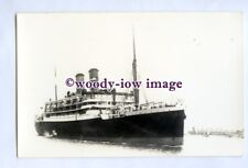 pf0637 - Orient Line Liner - Orama , built 1924 sunk 1940 - photograph