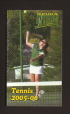 Keuka Storm--2005-06 Tennis Pocket Schedule