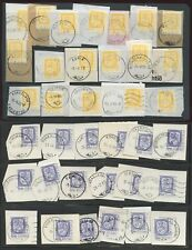 FINLAND COLLECTION 1980-83 POSTMARKS...70 stamps