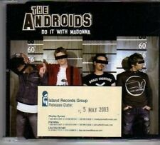 (BH693) The Androids, Do It With Madonna - 2003 DJ CD