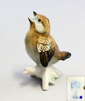 9941099 Porzellan Figur Ens Spatz H8,5cm