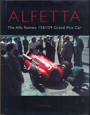 ALFETTA The Alfa Romeo 158/159 Grand Prix Car Ed McDonough out-of-print book