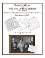 Family Maps of Madison County, Indiana, Brand New, Free shipping in the US