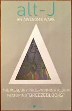 ALT-J An Awesome Wave Ltd Ed Discontinued RARE Poster! All This Is Yours Relaxer
