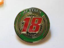 JJ Yeley Race Car  Driver Pin ,  # 18  Nascar Racing Pin Badge