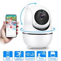 Smart IP Home Security System WiFi Wireless HD 1080p Video Camera w/ 2-way Audio