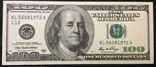 More details for  2006 $100  dollar bill usa notes