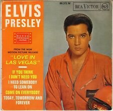 """ELVIS PRESLEY """"COME ON EVERYBODY"""" FRENCH 60'S EP RCA VICTOR 86 372 (04-1964)"""