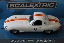 *SCALEXTRIC C3890 E-TYPE JAGUAR BOB JANE BATHURST 1965