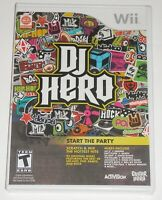 Nintendo Wii Video Game - DJ Hero (New) Game Only