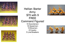 15mm Fantasy Hellian Starter Army (70 figures)