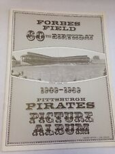 1909-1969 FORBES FIELD 60TH BIRTHDAY PITTSBURGH PIRATES PICTURE ALBUM NM!