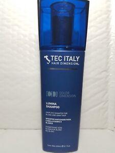 TEC ITALY HAIR DIMENSION LUMINA SHAMPOO FOR BLOND AND GRAY HAIR 10.1 FL OZ
