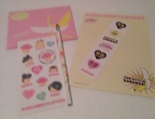 Harajuku Lovers by Gwen Stefani for Sanrio Stationery Stickers, Pencil 2006 NOS